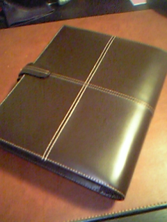 filofax cross a5 Chocolate